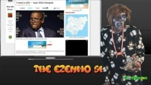 Video: Naijas Craziest Comedy – The Ezenmo Show (Ezenmo Applies To Be Dangote's New Wife As Police Beat Up Governor Fayose)